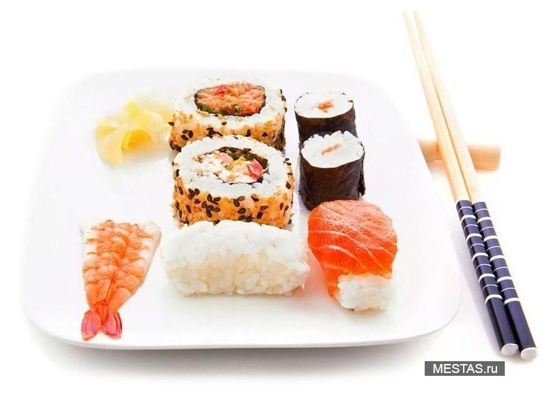Суши wok - фотография №2